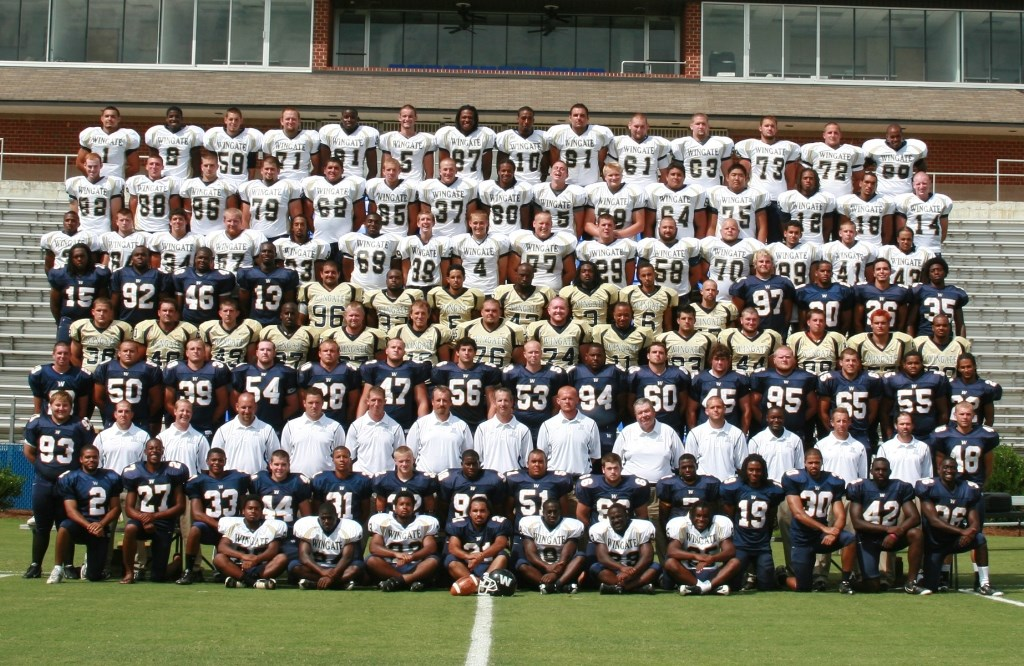 2009 Football Roster Wingate University Athletics